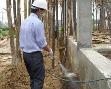 Các biện pháp phòng chống mối cho các công trình xây dựng