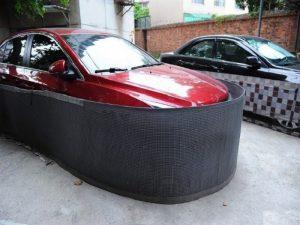 Lưới chống chuột cho xe ô tô